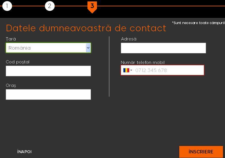 888sport cont nou - datele dumneavoastră de contact