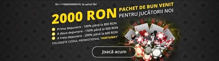 Cod bonus Fortuna Casino 1