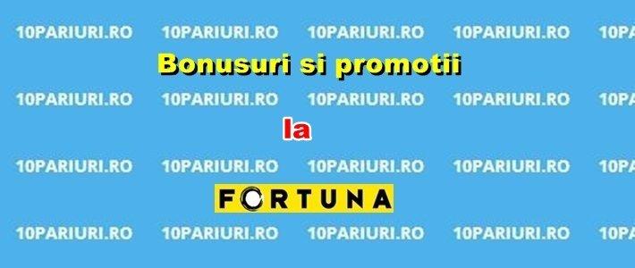 Bonusuri si oferte la Fortuna1