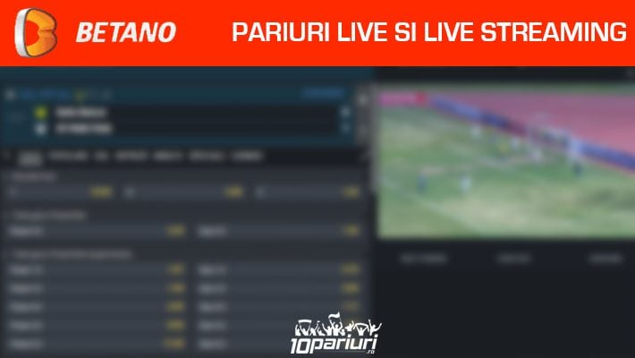 Betano live pariuri și streaming live