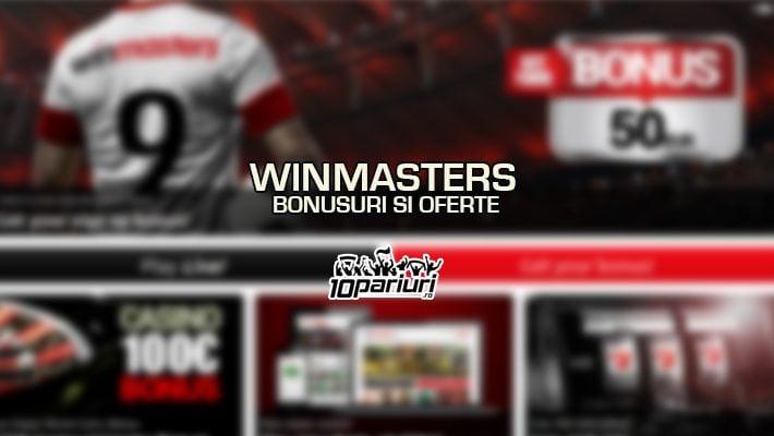 Winmasters bonusuri si oferte