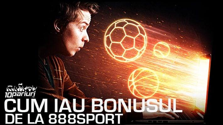 cum iau bonusul la 888sport