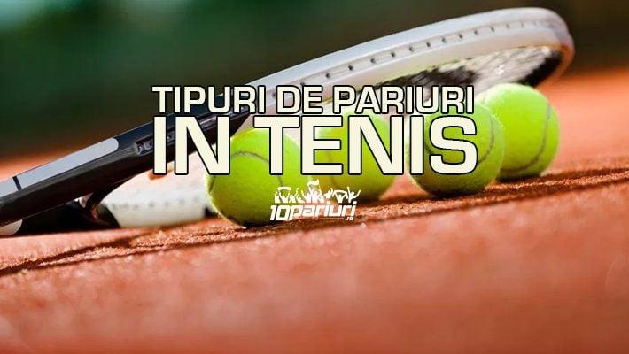 Tipuri de pariuri in tenis