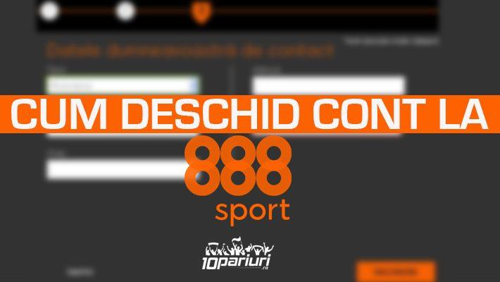 888Sport - cont nou