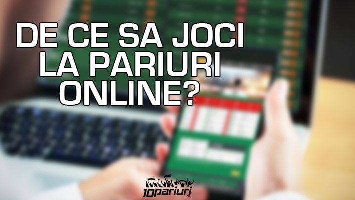 de ce să joci la pariuri online