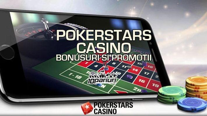 Pokerstars Casino bonusuri și promoții