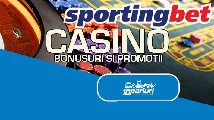 Sportingbet Casino bonusuri și promoții