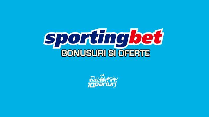 Sportingbet bonusuri si oferte