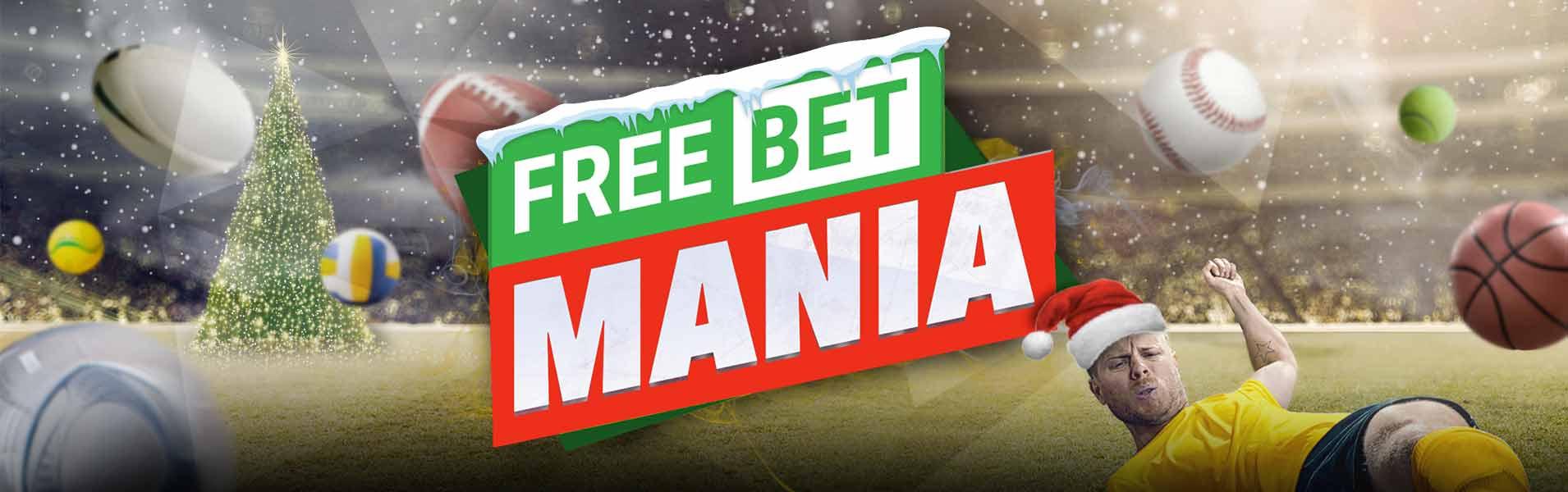 sportingbet freebet mania