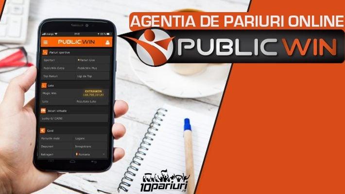 Agentia de pariuri online Publicwin