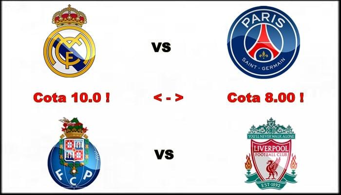 Vezi cele mai tari cote de miercuri, in Liga Campionilor !! 1