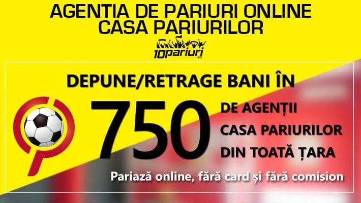 agentia de pariuri online casa pariurilor