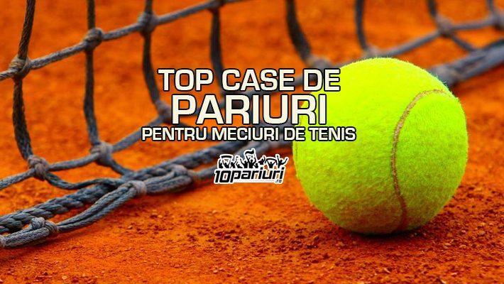 Top case de pariuri pentru meciuri de tenis