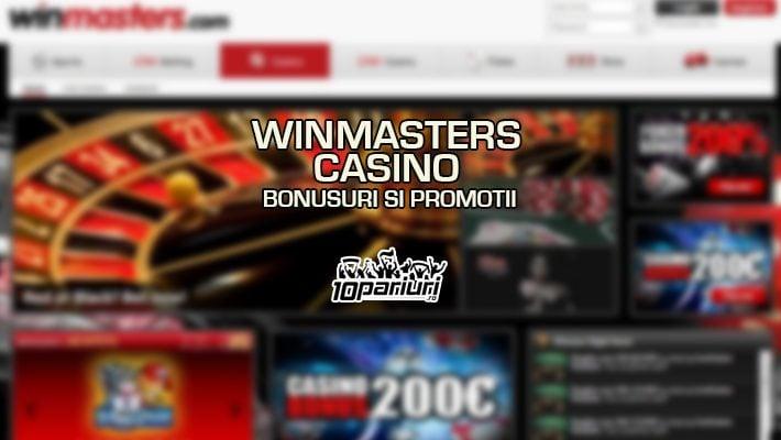 Winmasters Casino bonusuri si promotii