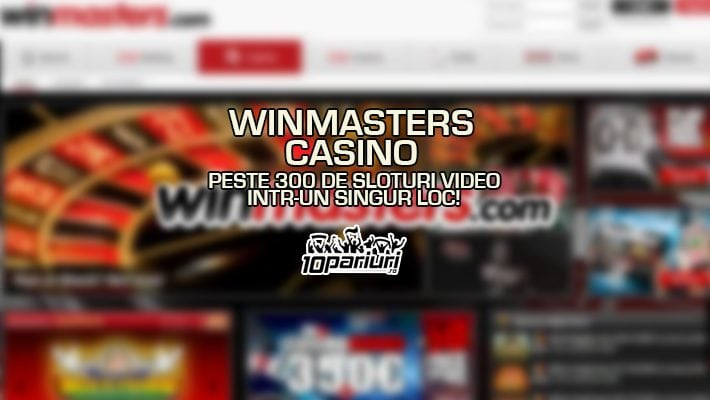 Winmasters Casino 500+ sloturi
