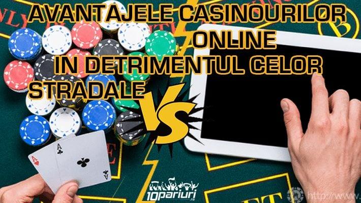 Avantaje cazinouri online