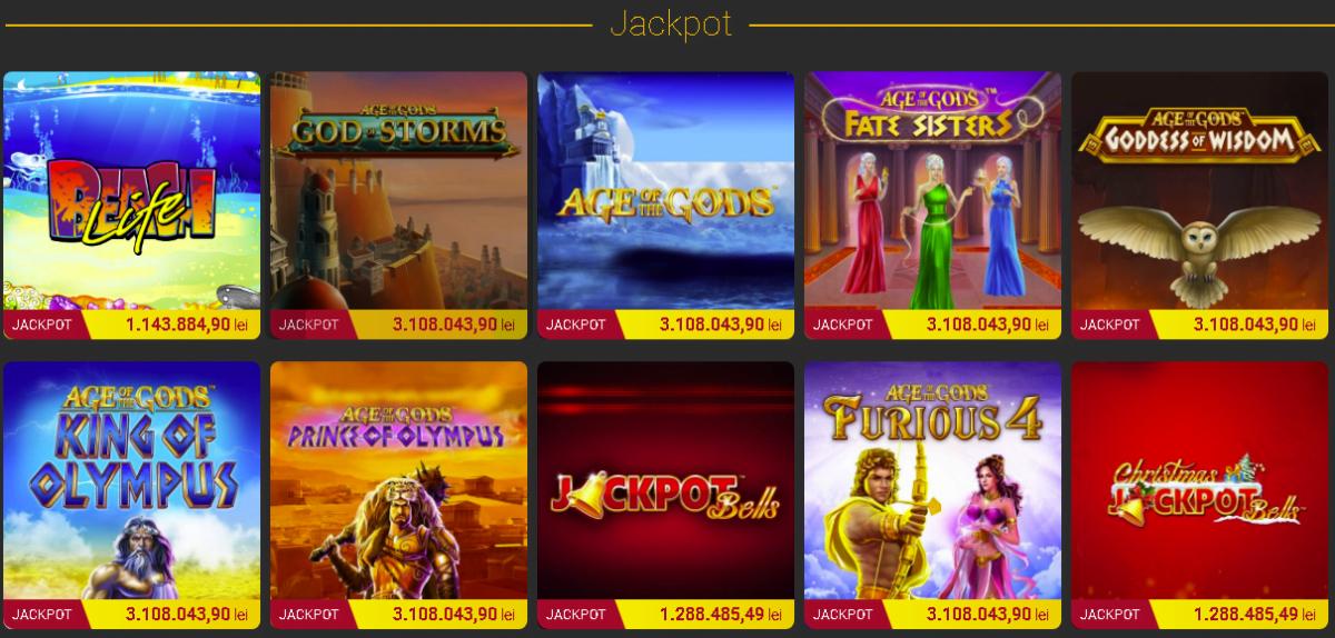 casa pariurilor casino jackpot