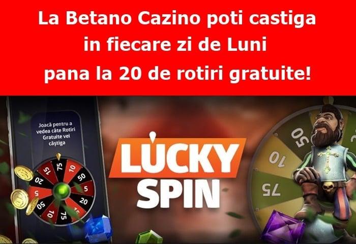 castiga rotiri gratuite in fiecare zi de luni la betano cazino 1