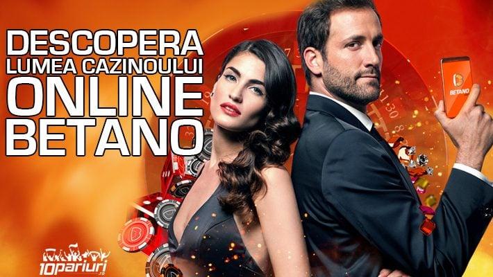 Descopera lumea casinoului online Betano