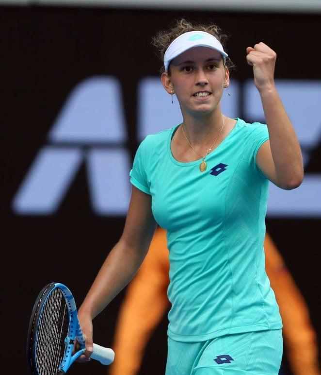 Elise Mertens 2018 Australian Open Day 7 02 662x772