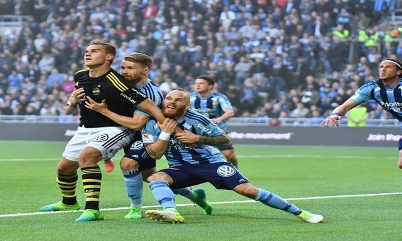 Ponturi AIK Stockholm Norrkoping Suedia Allsvenskan 26.05.2018