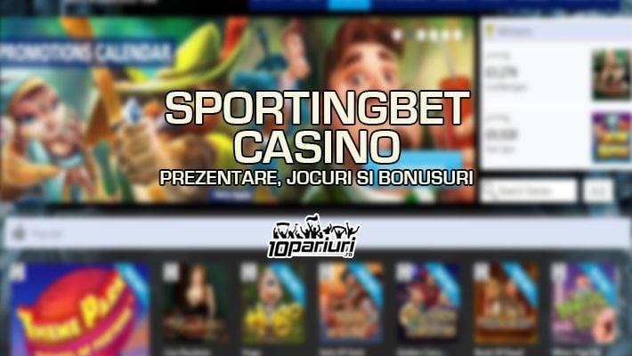 Sportingbet Casino prezentare