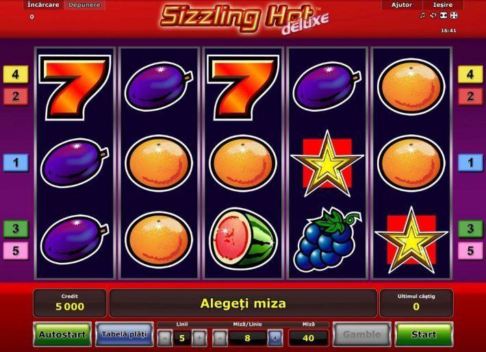 sizzling hot deluxe unibet casino