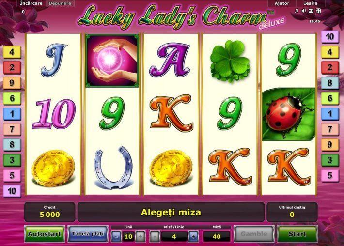 lucky lady's charm deluxe unibet casino