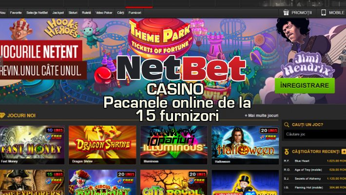 Netbet Casino păcănele online