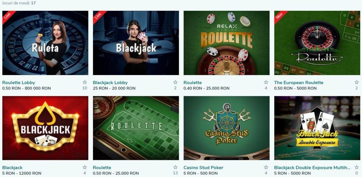 jocuri de masă la vlad cazino