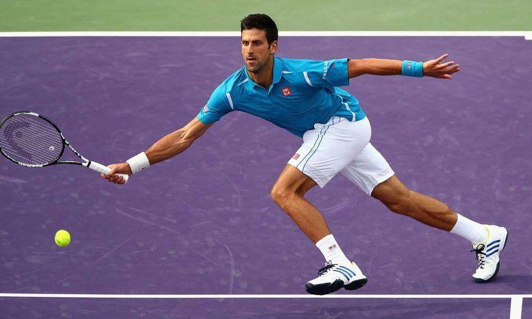 Novak Djokovic Aslan Karatsev