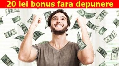 20 lei bonus fara depunere prin 10pariuri 1