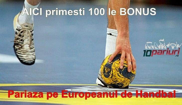 Full Bet de 100 RON la Campionatul European de Handbal vezi unde il obtii