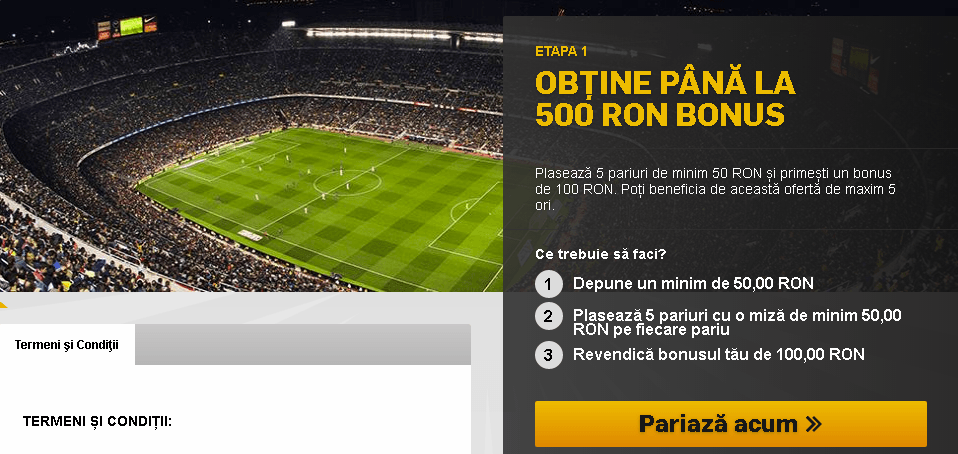 betfair bonus 500 RON