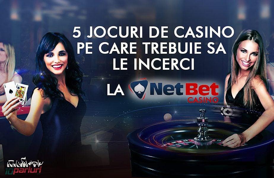 5 jocuri de casino pe care trebuie sa le incerci la netbet casino