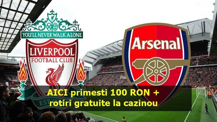Full Bet de 100 RON pe Liverpool – Arsenal in weekend rotiri gratuite la cazinou profita si tu