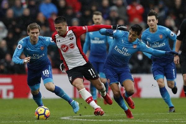 Ponturi pariuri Southampton Arsenal