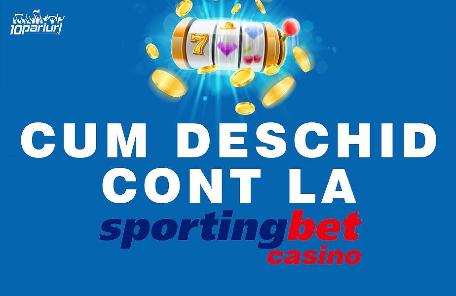 Sportingbet Casino deschidere cont