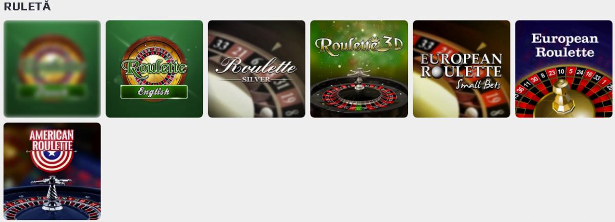 ruletă la netbet casino