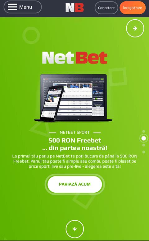 Netbet website mobile