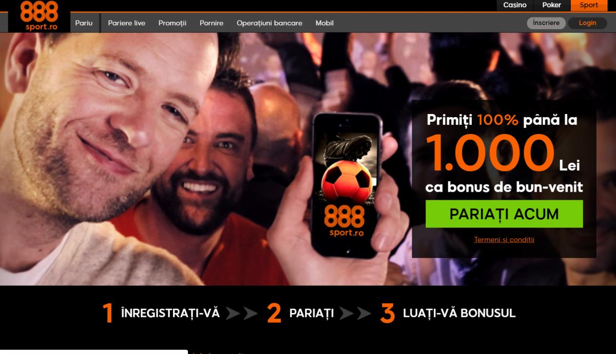 888 pariuri in romania 2019
