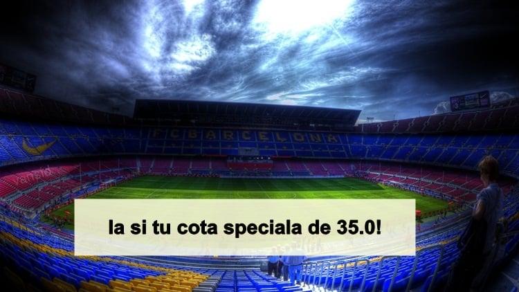 Pariezi pe Barcelona cu Eibar. Vezi aici o super cota de 35.0