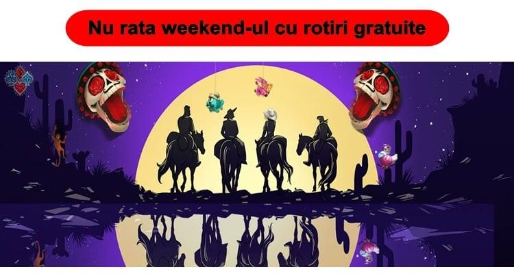 Weekend salbatic la cazinoul Betano te asteapta peste 2.000 de rotiri gratuite