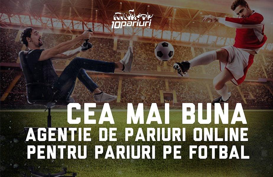 cea mai bună agenție online pentru pariuri pe fotbal