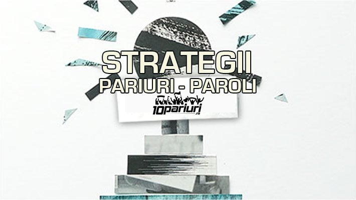 Strategia Paroli la pariuri