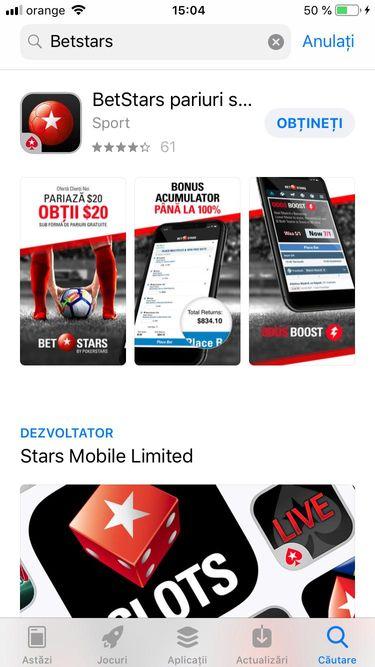 betstars App Store