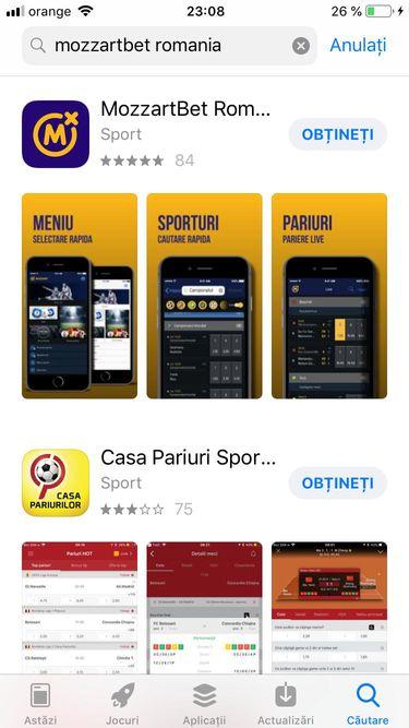 mozzartbet app store