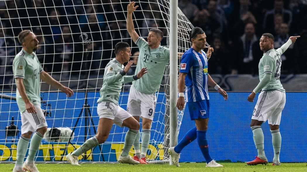 ponturi pariuri bayern vs hertha - germania bundesliga - 23 februarie 2019 - 1