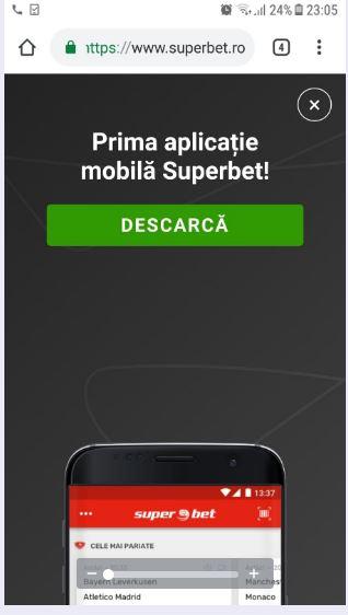 superbet site mobil