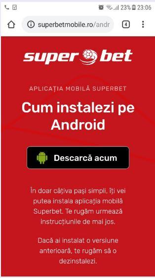 superbet app descărcare